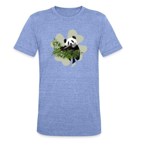 My lucky Panda - T-shirt chiné Bella + Canvas Unisexe