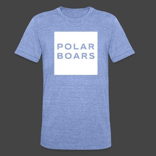 polar boars - Unisex Tri-Blend T-Shirt von Bella + Canvas