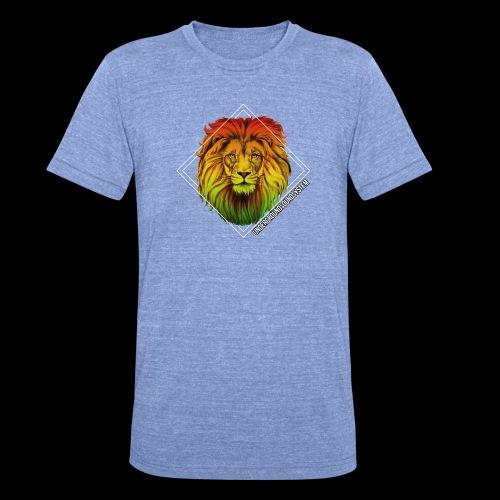 LION HEAD - UNDERGROUNDSOUNDSYSTEM - Unisex Tri-Blend T-Shirt von Bella + Canvas