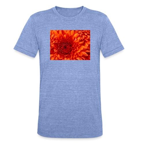 Chrysanthemum - Unisex tri-blend T-shirt van Bella + Canvas