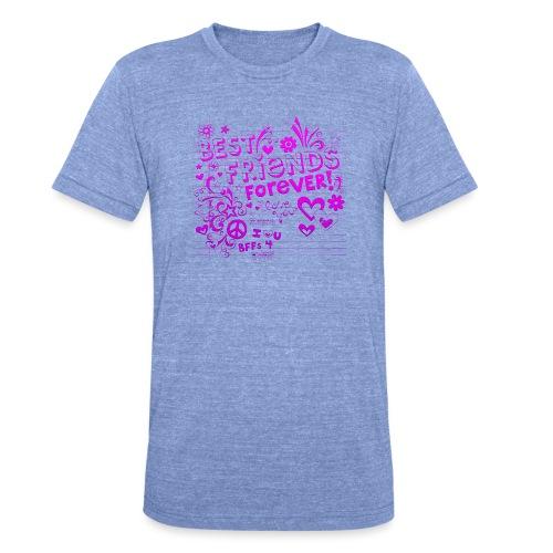 best friends - Triblend-T-shirt unisex från Bella + Canvas