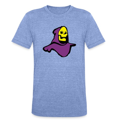 Skeletor - Unisex Tri-Blend T-Shirt by Bella + Canvas