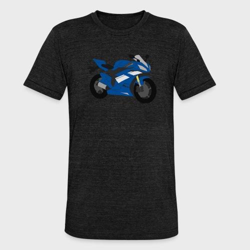 R6NICK Bike - Unisex Tri-Blend T-Shirt by Bella & Canvas