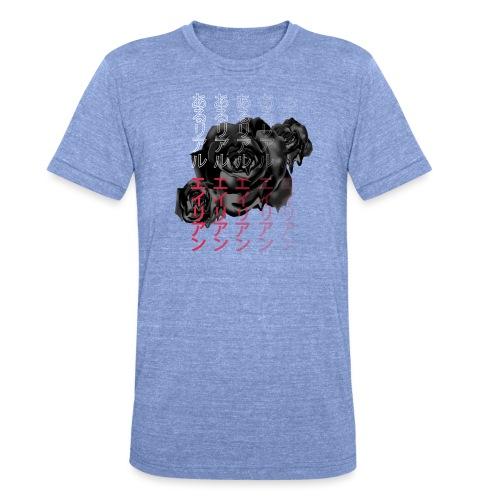Areal Alien Japanese Fade Rose - Unisex tri-blend T-skjorte fra Bella + Canvas