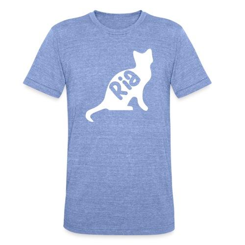 Team Ria Cat - Unisex Tri-Blend T-Shirt by Bella & Canvas