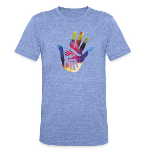 logo_storien - Unisex tri-blend T-skjorte fra Bella + Canvas