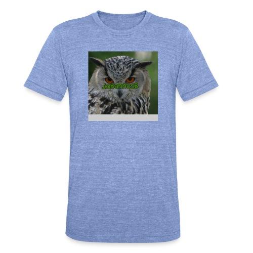 JohannesB lue - Unisex tri-blend T-skjorte fra Bella + Canvas