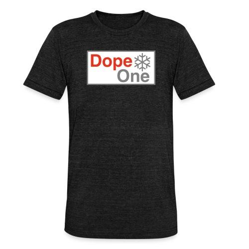 Dope One - Unisex Tri-Blend T-Shirt von Bella + Canvas