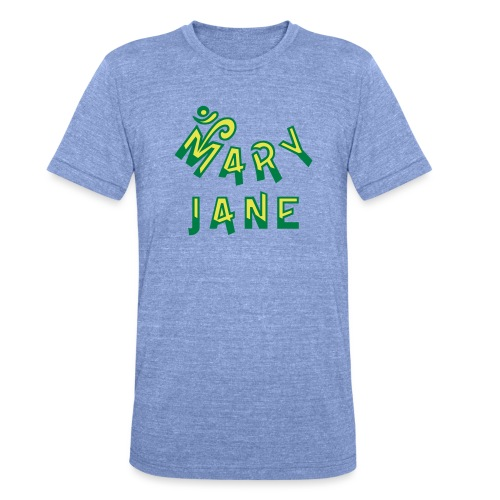 Mary Jane - Unisex Tri-Blend T-Shirt by Bella & Canvas