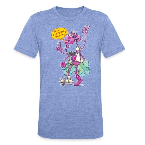 Moustique supplie de stopper les applaudissements - Unisex Tri-Blend T-Shirt by Bella & Canvas