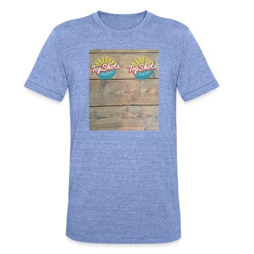 TenSlippers - Unisex tri-blend T-shirt van Bella + Canvas