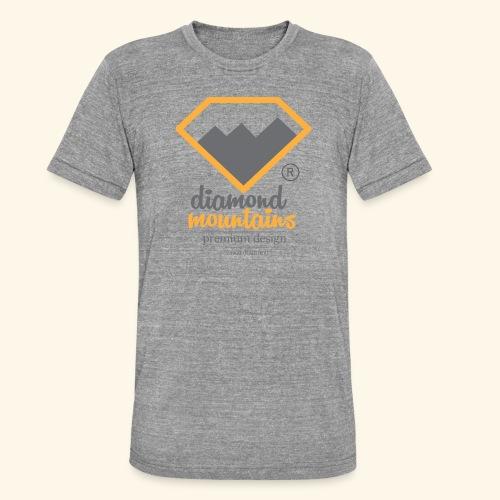 Diamond - Koszulka Bella + Canvas triblend – typu unisex