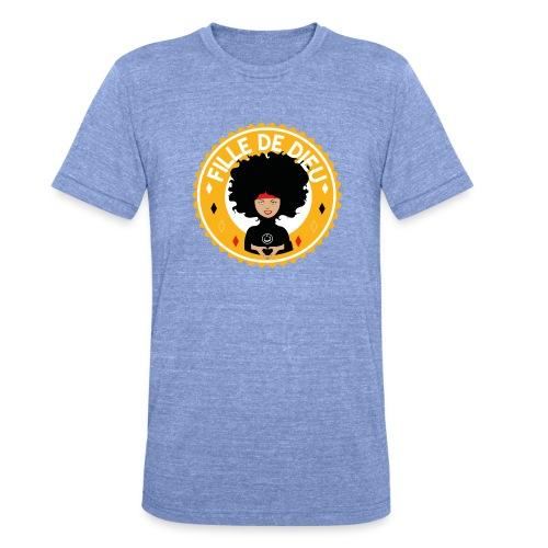 fillededieujaune - T-shirt chiné Bella + Canvas Unisexe