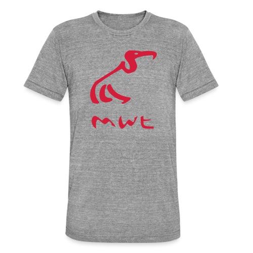 mwt avec nom - Unisex Tri-Blend T-Shirt von Bella + Canvas