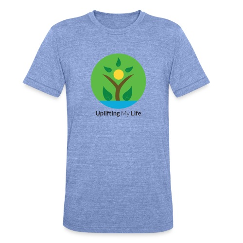 Uplifting My Life Official Merchandise - Unisex Tri-Blend T-Shirt by Bella & Canvas