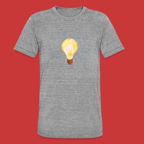 5 IDEEN Glühbirne 2018 - Unisex Tri-Blend T-Shirt von Bella + Canvas