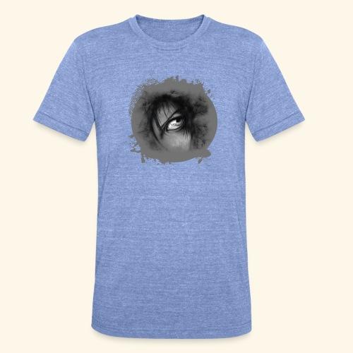 Regard sur le monde - T-shirt chiné Bella + Canvas Unisexe