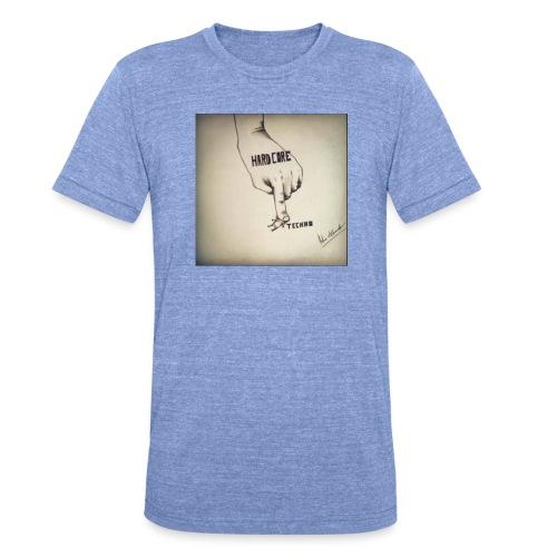 DerHardstyle.ch Hard_Core Techno - Unisex Tri-Blend T-Shirt von Bella + Canvas