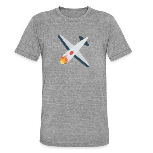 Falling Plane - Unisex Tri-Blend T-Shirt by Bella & Canvas