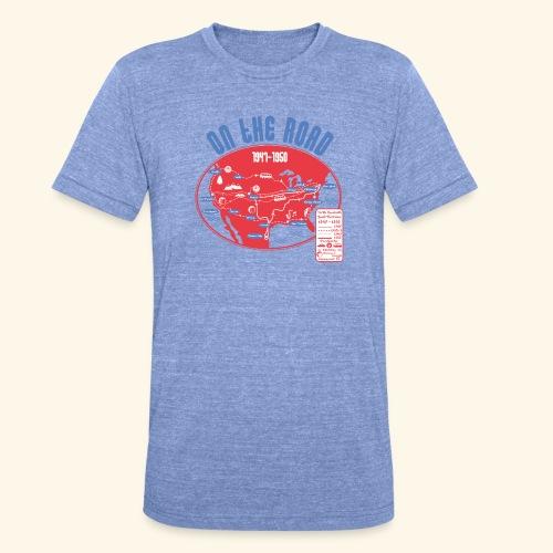 TShirtOntheRoad copy - Camiseta Tri-Blend unisex de Bella + Canvas