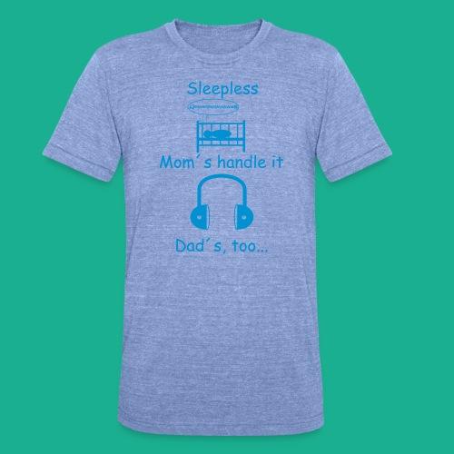 Sleepless - Unisex Tri-Blend T-Shirt von Bella + Canvas