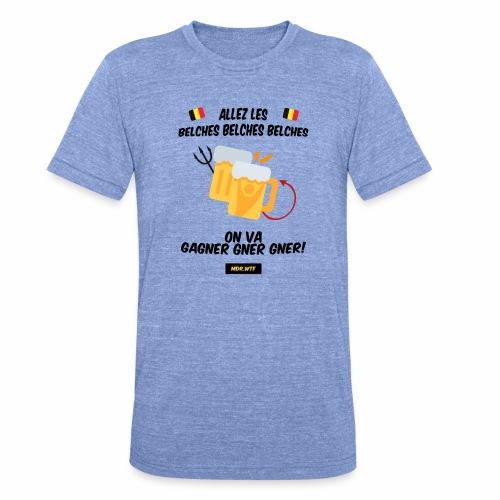 allez belge Par MDR.WTF - T-shirt chiné Bella + Canvas Unisexe