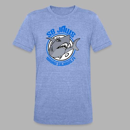 SB JAWS - Bella + Canvasin unisex Tri-Blend t-paita.