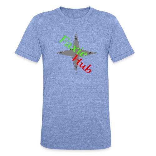 FaxieHub - Unisex tri-blend T-shirt fra Bella + Canvas