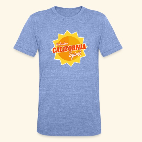 California Spirit Radioshow - T-shirt chiné Bella + Canvas Unisexe