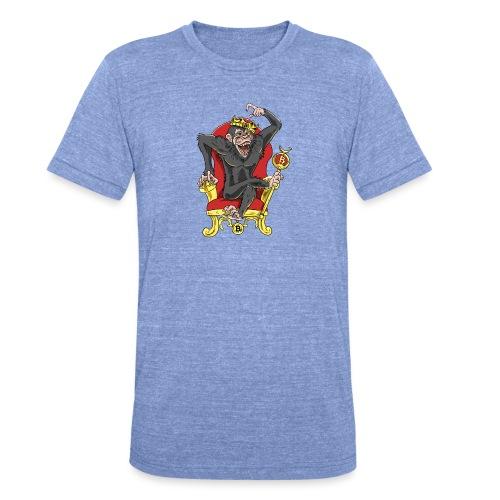 Bitcoin Monkey King - Beta Edition - Unisex Tri-Blend T-Shirt von Bella + Canvas