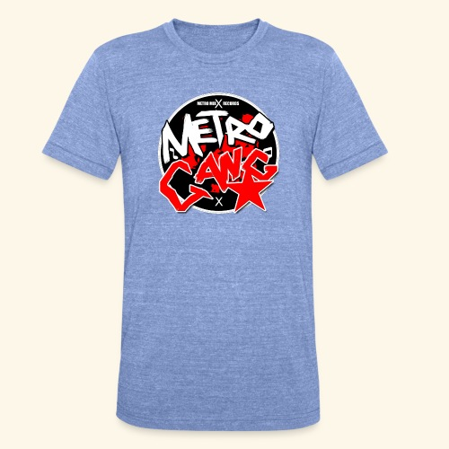 METRO GANG LIFESTYLE - Unisex Tri-Blend T-Shirt by Bella & Canvas