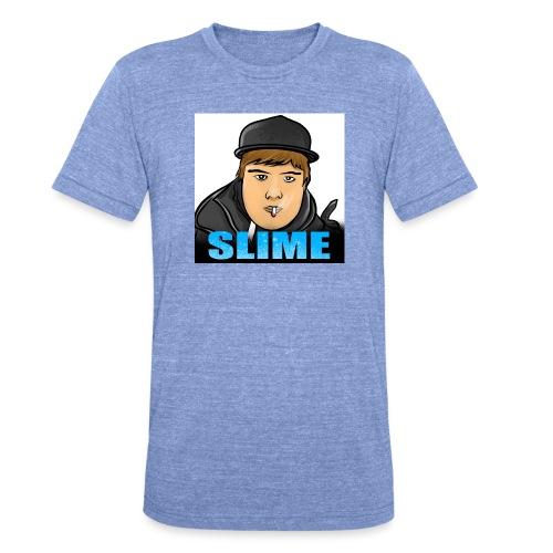 Egen SlimePlays Klær - Unisex tri-blend T-skjorte fra Bella + Canvas