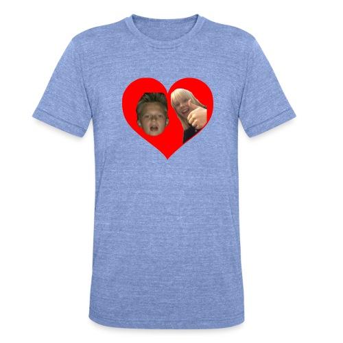Sebber in love - Unisex tri-blend T-shirt fra Bella + Canvas