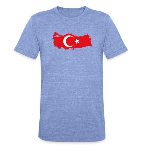 Tyrkern - Unisex tri-blend T-shirt fra Bella + Canvas