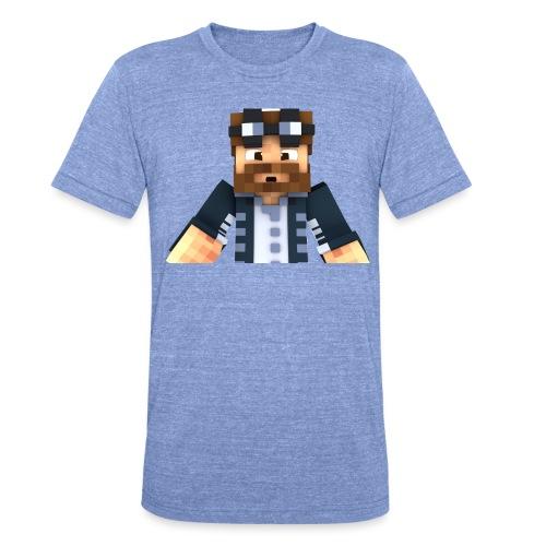 TitanHammer Soprendido - Camiseta Tri-Blend unisex de Bella + Canvas