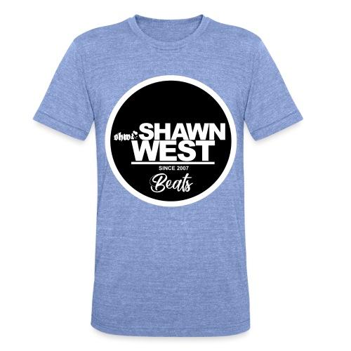 SHAWN WEST BUTTON - Unisex Tri-Blend T-Shirt von Bella + Canvas