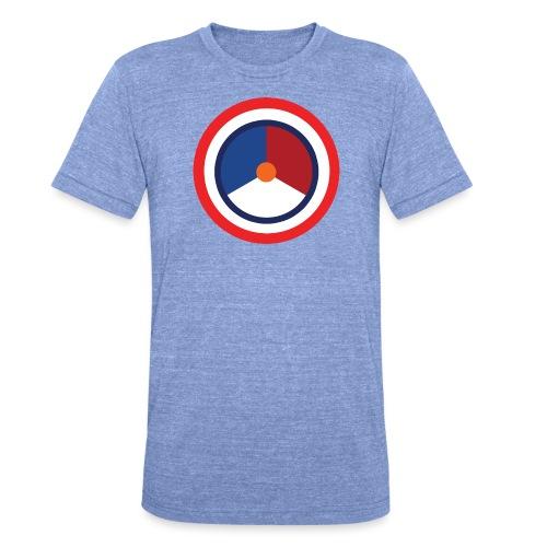Nederland logo - Unisex tri-blend T-shirt van Bella + Canvas