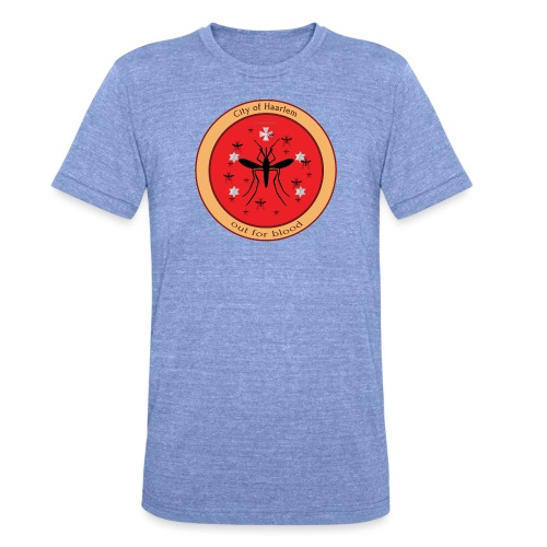 Haarlem GOT - Unisex tri-blend T-shirt van Bella + Canvas