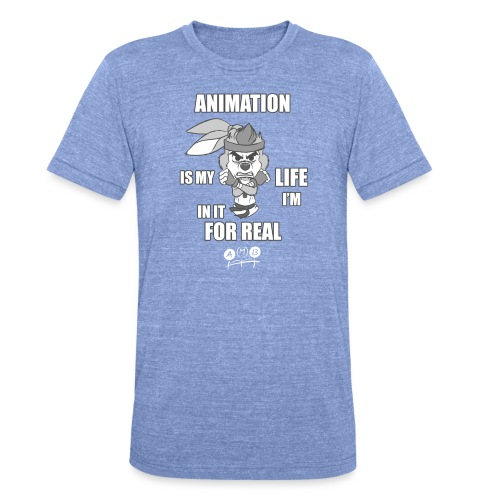 AMB Animation - In It For REAL - Unisex Tri-Blend T-Shirt by Bella & Canvas