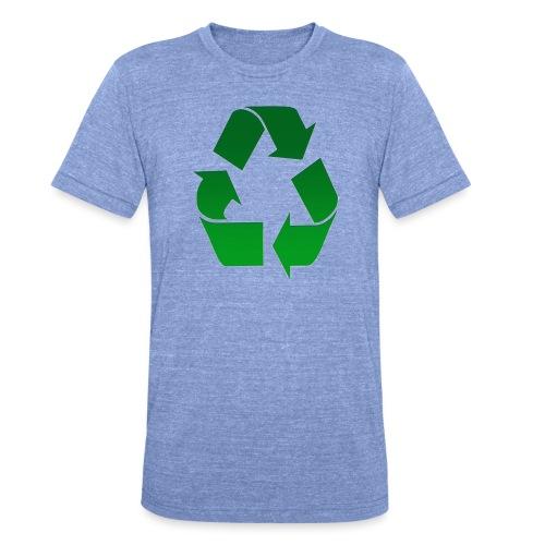 Recyclage - T-shirt chiné Bella + Canvas Unisexe