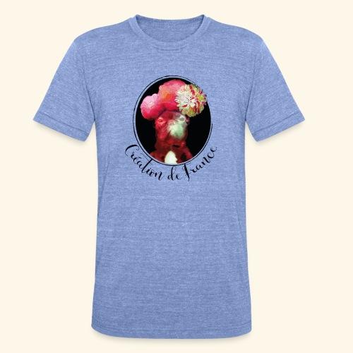Création de France - T-shirt chiné Bella + Canvas Unisexe