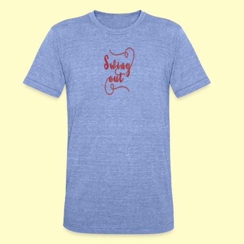 Swing Out Lindy Hop Vintage - Swing Retro - Unisex Tri-Blend T-Shirt von Bella + Canvas
