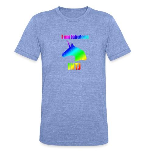 INTJ - Koszulka Bella + Canvas triblend – typu unisex