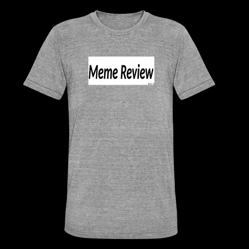 Meme Review - Triblend-T-shirt unisex från Bella + Canvas