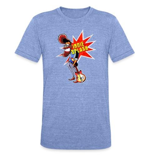Indie Splash - Unisex Tri-Blend T-Shirt von Bella + Canvas