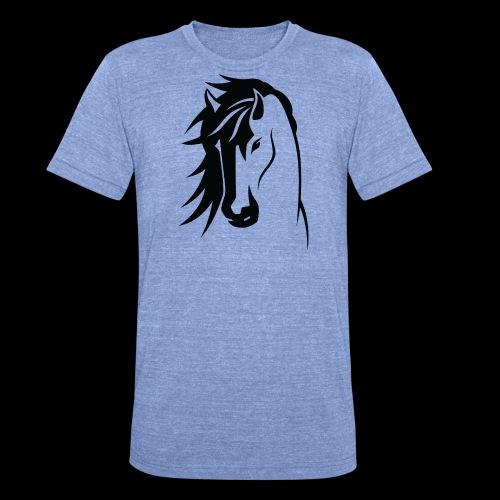 Stallion - Unisex Tri-Blend T-Shirt by Bella & Canvas