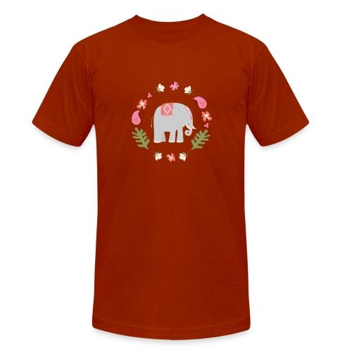 Indian elephant - Maglietta unisex tri-blend di Bella + Canvas