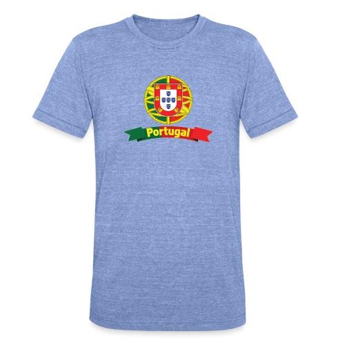 Portugal Campeão Europeu Camisolas de Futebol - Unisex Tri-Blend T-Shirt by Bella & Canvas
