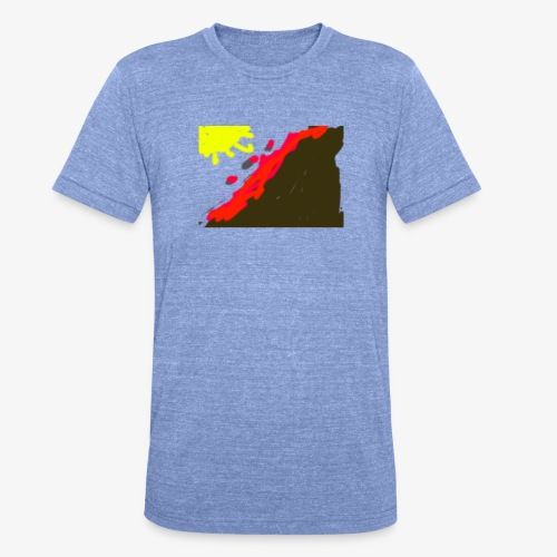 flowers - Unisex tri-blend T-shirt fra Bella + Canvas