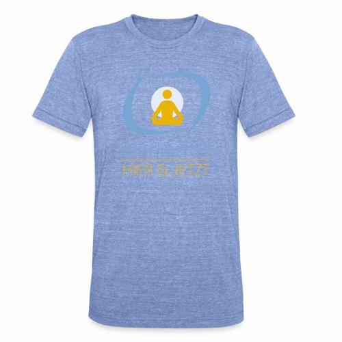 MeditierenHierJetzt.ch - Unisex Tri-Blend T-Shirt von Bella + Canvas